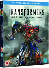 Transformers: Age of Extinction (3D Edition with 2D Edition) [Blu-ray]