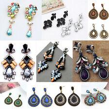 Fashion Women's Crystal Rhinestone Ear Stud Dangle Earrings Charming Jewelry New
