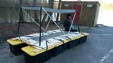 Porta-Pontoon Pontoon Boat Canoe Portable Folding Collapsible FREE Shipping Vids