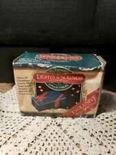 Rare! Mr. Christmas Lights & Sounds Nib Christmas Box 1996 Plays 25 Songs! Works