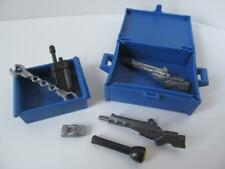 Playmobil Police/city accessories: Hand cuffs, guns, torch, radio & boxes NEW