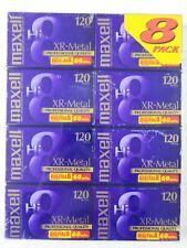 Maxell Hi-8 Tape XR Metal 120 min 8 mm (8 Tapes)