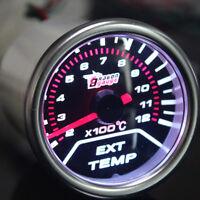 LED Auto Universal Abgastemperaturanzeige EGT 0-1200℃ Anzeige Gauge C12