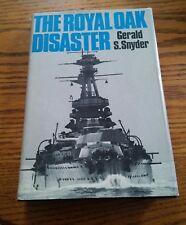 020 The Royal Oak Disaster Gerald Snyder Hardback Book DJ