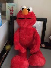 """HUG ME ELMO 23"""" TALL SINGS TALK HUGS PLUSH Sesame Street"""