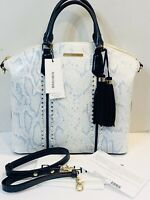 NWT BRAHMIN Large Duxbury SKY BERWICK Satchel Crossbody Shoulder Bag