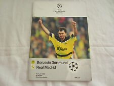 1997-98 CHAMPIONS LEAGUE  SEMI-FINAL BORUSSIA DORTMUND v REAL MADRID