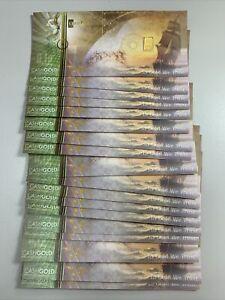 """Lot Of 18 1/10 Gram .9999 Gold Karatbars Cashgold """"PREPPER GOLD"""" 24K Nadir Gold"""