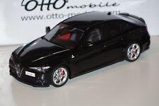 Alfa Romeo Giulia Quadrifoglio schwarz 1:18 Resin Ottomobile OT793 neu & OVP