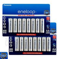 16 x Panasonic Eneloop AA batteries 1900mAh Rechargeable Ni-MH Accu BK-3MCCE
