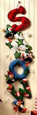 Bucilla Snow ~ Felt Christmas Wall Hanging Kit #86112 Penguins, Stars, Ornaments