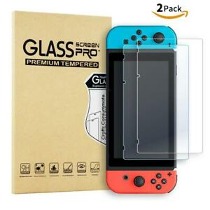 Premium Tempered Glass Screen Protector for Nintendo Switch (2 Pack)