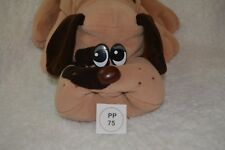 Vtg 1985 Tonka Pound Puppy/Puppies Adorable Beige with brown spots 17 inch (75)