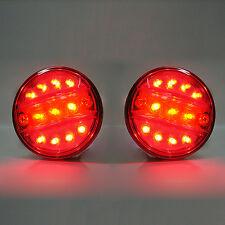 Set di 2 LED SMD FANALE POSTERIORE LUCE 12V FURGONE AUTO Autobus MINI