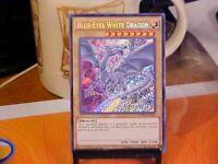 YUGIOH Blue-Eyes White Dragon MVP1-ENS55 Secret Rare 1st Movie Pack Edition