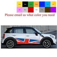 All Mini Cooper For Uk Flag Side Door Racing Stripes Graphics Sticker Union Jack