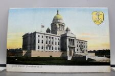 Rhode Island Providence State Capitol Postcard Old Vintage Card View Standard PC