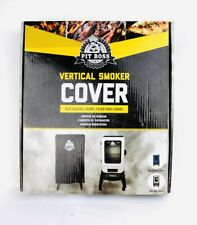 Pit Boss Vertical Smoker Cover Blue Blazing 2 Series & Silver Star 73322 NEW