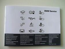 Original BMW Serviceheft 27 Sprachen alle Modelle ab Modelljahr 2012 01402901444
