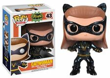 FUNKO POP! HEROES: BATMAN CLASSIC TV SERIES - CAT WOMAN 1966 43 VINYL