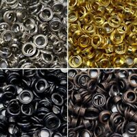 Eyelets With Washers 4mm 5mm 8mm 11mm 14mm Or Corresponding Sized Tool Craft