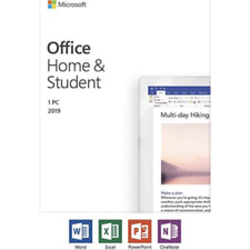 Microsoft Office Home and Student 2019 Retail Product Key Windows PC DOWNLOAD