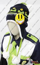 DRAMAtical Murder DMMD Seragaki Noiz Cosplay Hat with One smile badge