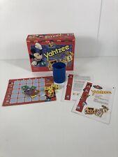 Vintage 1995 Disney Mickey Mouse Yahtzee Milton Bradley 100% Complete