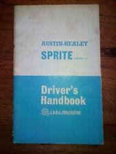 Austin Healey MkIII Handbook Manual de usuario CURIOSITY CURIOSIDAD