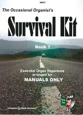 Occasional Organist's Survival Kit Book 7- Grade: 4 - 5; Albinoni, Bach, B.