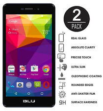 Poweradd BLU Life XL 2-pack Tempered Glass Screen Protector 9H 2.5D Round Edges