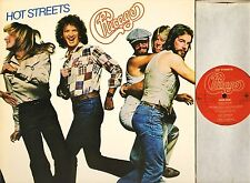 CHICAGO hot streets 86069 A1/B2 early press with inner uk cbs 1978 LP PS EX+/EX