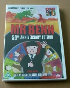 MR BENN - COMPLETE DVD (50TH ANNIVERSARY EDITION) NEW AND SEALED, FREE POST.