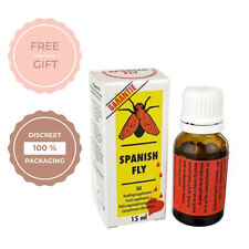 Spanish Fly Extra Bottle Liquid Drops for Men and women For Better Orgasm Libido
