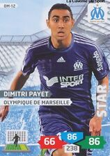 OM-12 DIMITRI PAYET # MARSEILLE CARD ADRENALYN FOOT 2014 PANINI