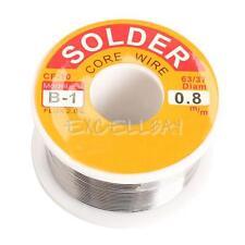 0.8mm 100g Tin Wire Melt Lead Rosin Core Solder Soldering Metal Wire Roll Reel