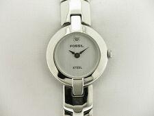 FOSSIL collezione Steel lady quarzo quadrante silver tondo referenza FS-2729 new