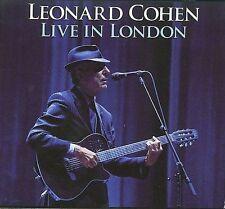 LEONARD COHEN - LIVE IN LONDON [DIGIPAK] (NEW CD)