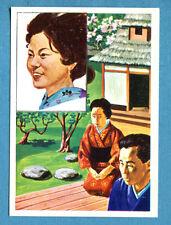 LA TERRA - Panini 1966 - Figurina-Sticker n. 91 - ASIATICI -Rec