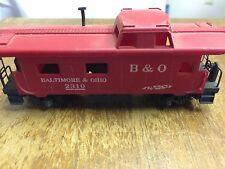 Baltimore & Ohio 2310 Red Train Car H0 Scale