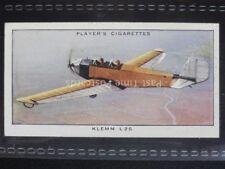 No.45 KLEMM L 25 (GR) - Aeroplanes, Civil - John Player 1935