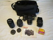 Vintage Pentax SF 10 Camera With Additional Accessories