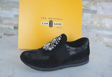 Car Shoe Gr 40 Sneakers Slip-ons Slipper Schuhe Brosche multicolor NEU UVP 390€
