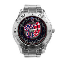 Washington Nationals MLB Stainless Steel Analogue Men's Watch Gift
