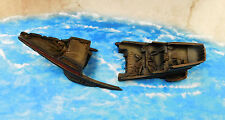 1X Well-Painted 15mm Sea Dog Game Studios Brig Wreck with 2 parts Bow and Stern