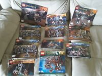 Lego LORD OF THE RINGS HOBBIT - Instruction Book Lot – 11 Manuals!
