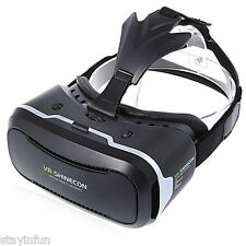 VR SHINECON II 3D Virtual Reality Head-Mounted Video VR Glasses for Smartphones
