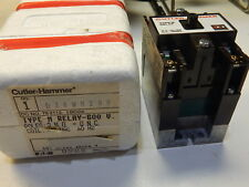 CUTTLER-HAMMER D26MR20B TYPE M RELAY 600V 2 NO - 0 NC 240VAC COIL
