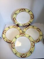 "Pfaltzgraff Everyday Tuscan Rooster"" Set of 4 Dinner Plates 10 3/4"""