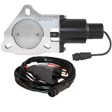 """QTP Quicktime Performance QTEC30 3"""" Electric Exhaust Cutout 3-Bolt Flange"""